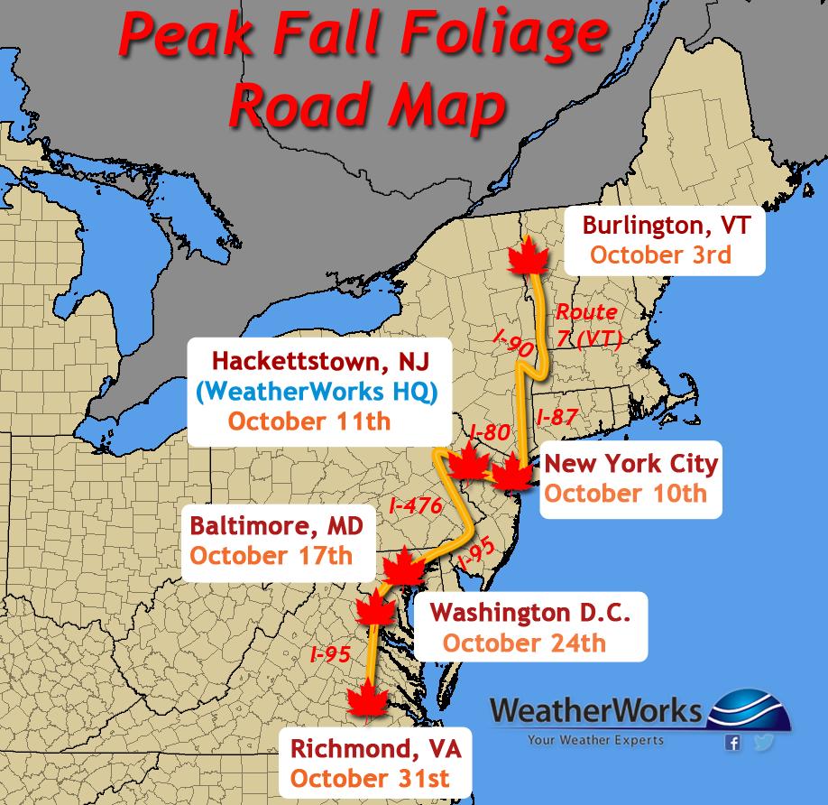 Pennsylvania Fall Foliage Map Afputracom