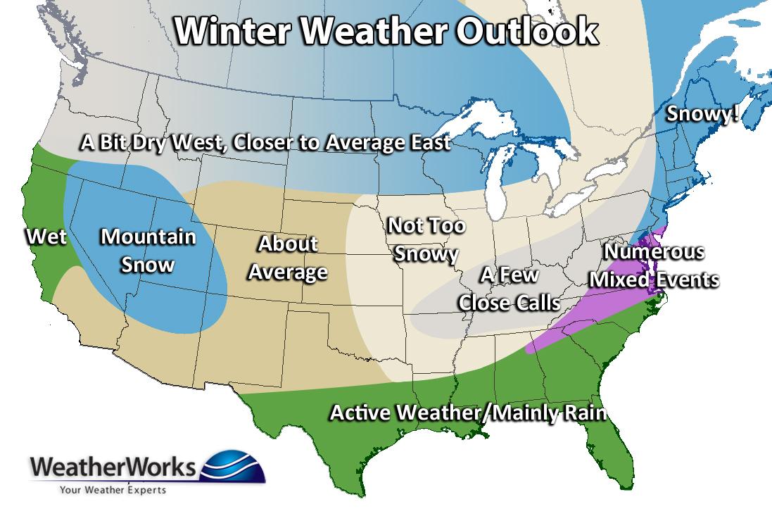 2018 - 2019 Winter Forecast | WeatherWorks
